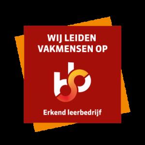 Dit is het logo van de SBB. Joyfull Onderhoud is een erkend leerbedrijf.
